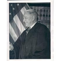1946 Press Photo Detroit MI Federal District Court Judge Frank Picard