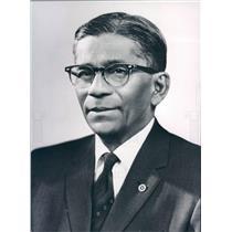 1952 Press Photo Calcutta India Nitish Laharry of Rotary International