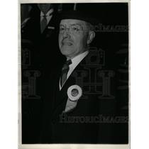 1937 Press Photo John D. Rockefeller in Commencement - RRX69825