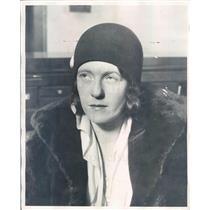 1929 Press Photo Chicago IL Murder Suspect Genevieve O'Brien - ner43245