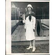 1929 Press Photo Palm Beach FL Society Mrs William Fairchild of NYC - ner50775