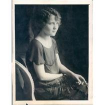 1923 Press Photo Chicago IL Virginia Milner Thorne Ex Wife of Gordon - ner53605