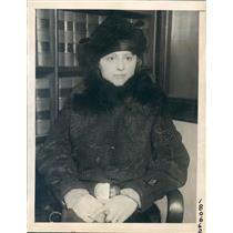 1922 Press Photo Chicago IL Augusta Tiernan Testifies Paternity Trial