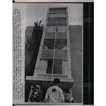 Press Photo Jackson State College Dormitory Shooting - RRX73237