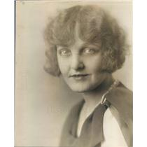 1930 Press Photo Denver CO Opera Singer Lucile Fowler or Sally Mason - ner59049