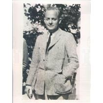 1932 Press Photo Chicago IL Kenneth G Smith Toothpaste Manufacturer - ner62311