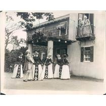 1930 Press Photo Magnolia MA American Opera Co Janet Mabon - ner62583