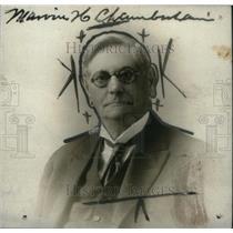 1922 Press Photo Marvin Chamberlain Woodstock Michigan - RRX44843