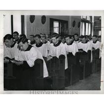 1939 Press Photo College Cyril and Methodist ceremony - RRW57907