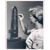1955 Press Photo St Petersburg FL Joyce Kickleter St Petersburg High