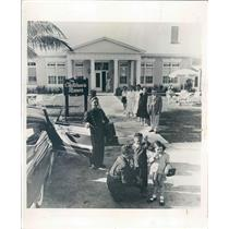 1955 Press Photo St Petersburg FL The Childrens Manor Hotel for Kids