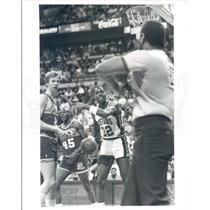 1989 Press Photo NBA Detroit Pistons John Sally - snb3449