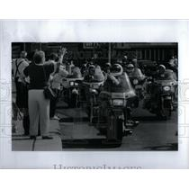 1992 Press Photo Motor Maids Motorcycle Convention - RRX24985