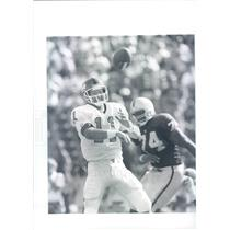 Undated Press Photo  Photo NFL New York Giants Quarterback Phil Simms - snb8923