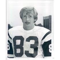 1971 Press Photo AFL/NFL New York Jets Wide Receiver George Sauer - snb9133