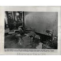 Press Photo Trenton State Prison Disturbances - RRW91381