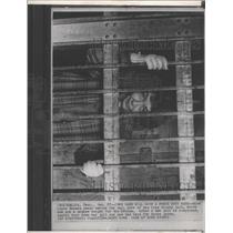1966 Press Photo Reneau Clay County jail bricks cell - RRX91285