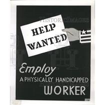 1953 Press Photo Poster Chicago Handicapped - RRW38637