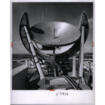 1961 Press Photo Precision Radio Telescope