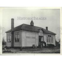 1893 Press Photo Tyler school building, before 1894, still used - spa95387