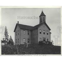 1893 Press Photo Rockford School before 1894 - spa95389