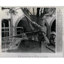 1961 Press Photo Elisabethville United Nations Force