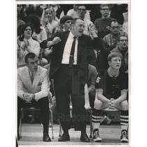 1970 Press Photo Coach Pat Long successful baseball coach, De Sales University