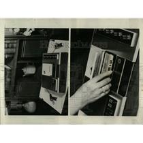 1969 Press Photo four track stereo cassette - RRW56009