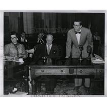 1954 Press Photo Michigan Communism Inquiry Trial - RRW90655
