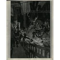 1928 Press Photo Illustration old time presidential ele - RRW98467