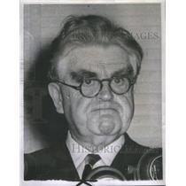 1950 Press Photo John Llewellyn Lewis United Mine Workers Of America Leader