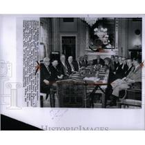 1964 Press Photo Civil Rights Bill/Southern US Senators - RRX54709