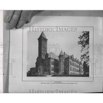 1909 Press Photo Copy-South Central High School exterior view - spa98642