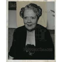 1950 Press Photo Actress Spring Byington - noo02283