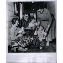 1961 Press Photo The Nursery For The Blind - RRX59995