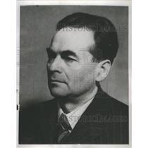 1948 Press Photo Finnish Communist Yrjoe Leino