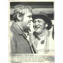 1972 Press Photo Stock Car Drivers Buddy Baker and Joe Frasson - nos03508