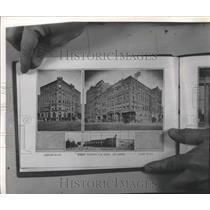 1901 Press Photo Street Railway Car Barns & Shops at Riverside Avenue & Howard