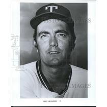 1977 Press Photo Texas Rangers Bert Blyleven - nos04364