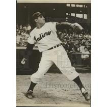 Press Photo Cleveland Indians baseball pitcher Mike Garcia - sas01842