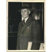 1938 Press Photo Leon Turrou Federal Agent charged of the Espionage - sba18897