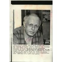 1974 Press Photo Russian dissident Andrei Sakharov awarded Nobel Peace Prize