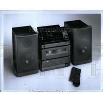 1960 Press Photo Festival Show Model Sound System Tape - RRX51379