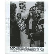 1991 Press Photo TV Show, Abortion Wars - RRW41867