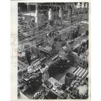 1926 Press Photo Assembly area for the In-Sink-Erator in Racine, Wisconsin