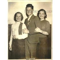 1933 Press Photo America's Healthiest Boy and Girls4-H Clubs Clista Millspaugh