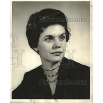 1955 Press Photo Katherine Copponek of Louisiana. - nop19538
