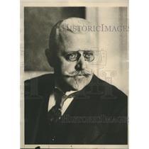 1929 Press Photo Johaan Schober called to form new Austrian cabonet - sba22329