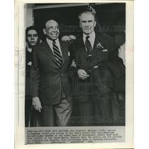 1959 Press Photo Gen. Humberto Delgado exiled Portuguese in Caracas Venezuela