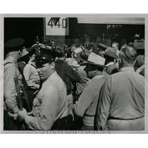 1947 Press Photo The Mechanics' Strike In Detroit